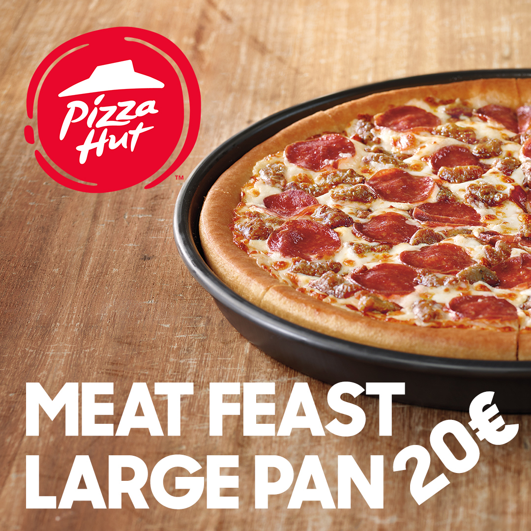 Meat Feast Large Pan 20€