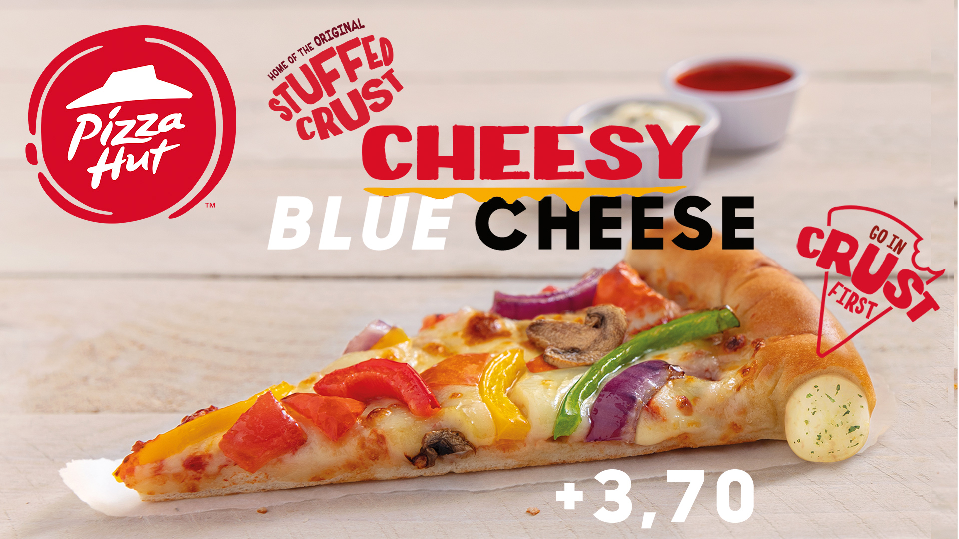 STUFFED CHEESY CRUST BLUE CHEESE